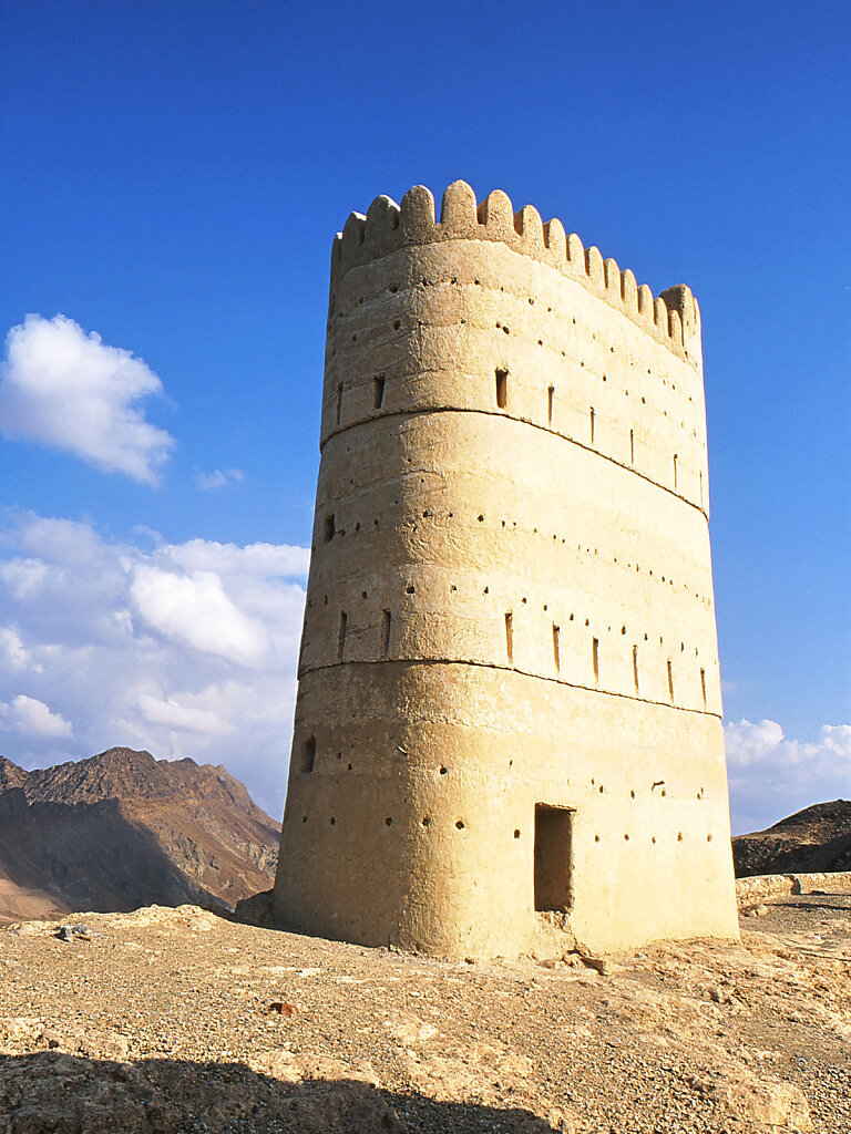 Wachturm in Fandja / Watchtower in Fanja