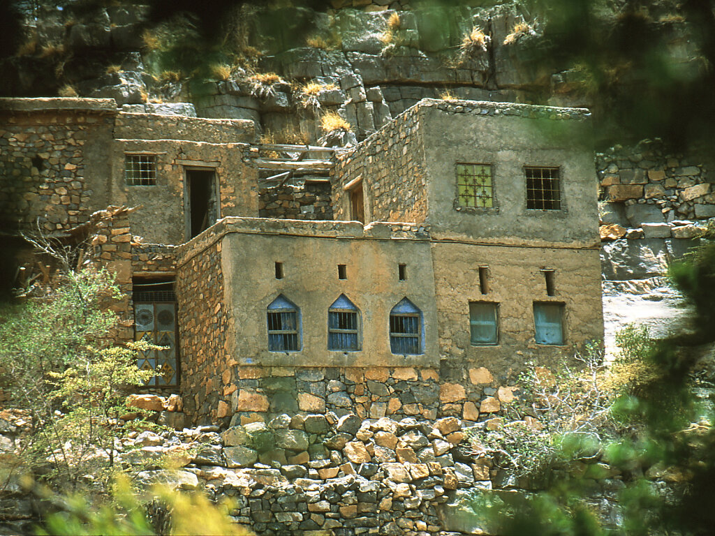 Djabal Akhdar Wohnhäuser / Jebel Akhdar residential houses