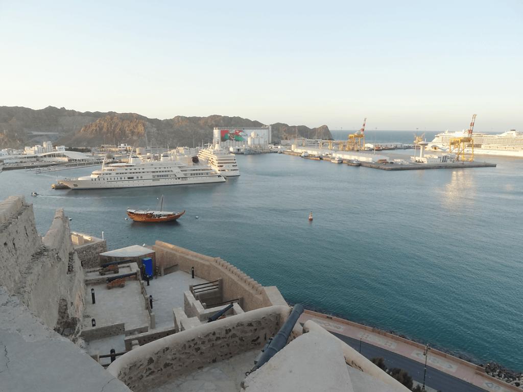 Hafenbucht von Martrah / Muttrah Harbour Bay